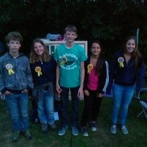 De winnaars van het kamp!